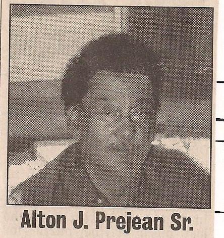 "Joseph Albert Prejean Sr.(""Babu"")"
