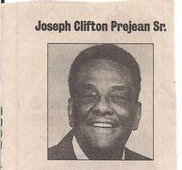 "Joseph Clifton Prejean Sr. (""Fat"")"